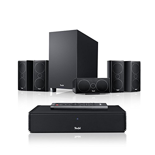 Teufel Consono 35 Complete Schwarz Heimkino Lautsprecher 5.1 Soundanlage Kino Raumklang Surround Subwoofer Movie High-End HiFi Speaker