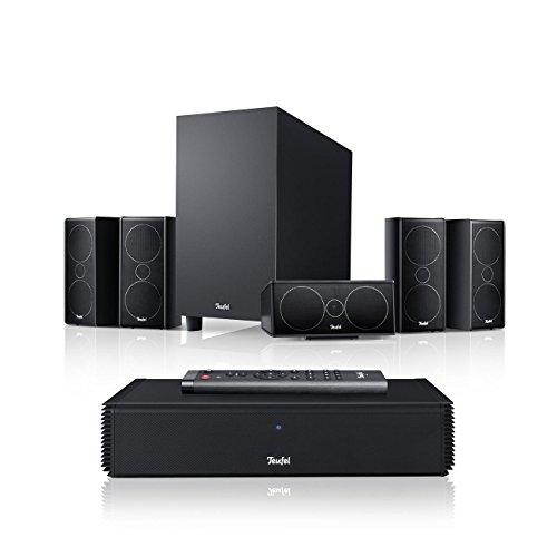 Teufel Consono 35 Complete Schwarz Heimkino Lautsprecher 5.1 Soundanlage Kino Raumklang Surround Subwoofer Movie High-End HiFi Speaker