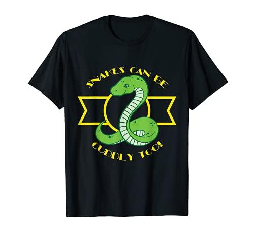 Las serpientes también pueden ser mimosas Diseño de amantes Camiseta