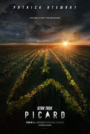 Star Trek : Picard – Film Poster Plakat Drucken Bild - 43.2 x 60.7cm Größe Grösse Filmplakat