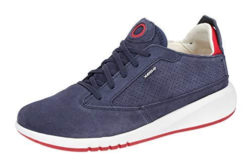 Geox Damen Sneaker AERANTIS A Blau Rauleder 39