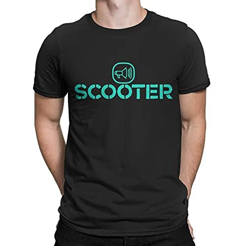 tianhua Scooter Techno,Hard Trance German Bamen Printed T-Shirt