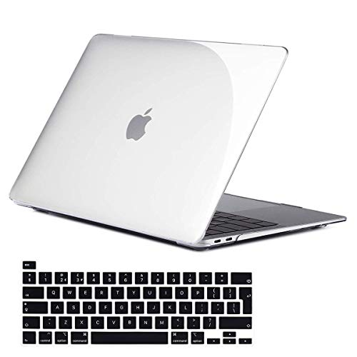 AILRINNI for MacBook Pro 16 Inch Case 2019 A2141, Hard Plastic Shell Cover Protective Case with Keyboard Cover for MacBook Pro 16 Inch - Clear