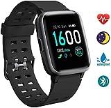 Orologio Intelligente, Smartwatch Orologio Fitness da Uomo e Donna, Cardiofrequenzimetro da Polso YAGALA, Orologio Smartwatch con IP68 Impermeabile (per Android iOS Xiaomi)