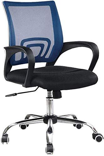 XKD bureaustoel Chair Casa Mesh kantoor ligstoel ademend voeten draaistoel staal