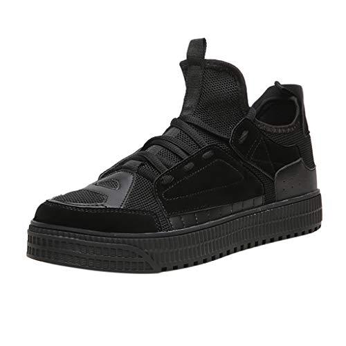 SSUPLYMY Herren Slipper Slip On Casual Sneaker Cloudsurfer Schuhe Freizeitschuhe Outdoor-Schuhe Walkschuhe Laufschuhe Ultraleichte Trainer Schuhe Atmungsaktive Sportschuhe Sneaker