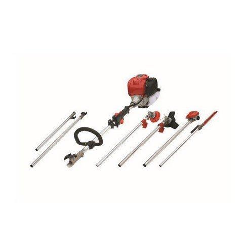Gowe Professional Multi Pole, Pole haie tronçonneuse Trimmer6 en 1, essence Débroussailleuse tondeuse à gazon Brosse/Bush Cutter Siphon Snipper