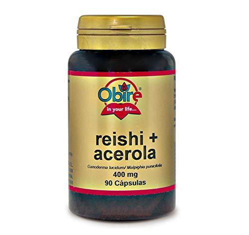Obire | Reishi y acerola 400 mg | 90 Cápsulas