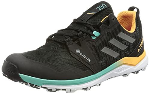 adidas Terrex Agravic GTX W, Zapatillas de Trail Running Mujer, NEGBÁS/Gricua/NARBRU, 43 1/3 EU