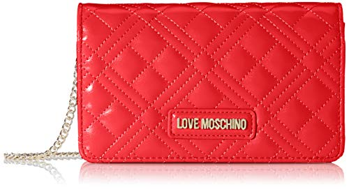 Love Moschino Jc4093pp1a, Borsa a Mano Donna, Rosso (Rosso), 4x11x18 cm (W x H x L)
