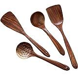 Wooden Cooking Utensils Kitchen Utensil,NAYAHOSE Natural...