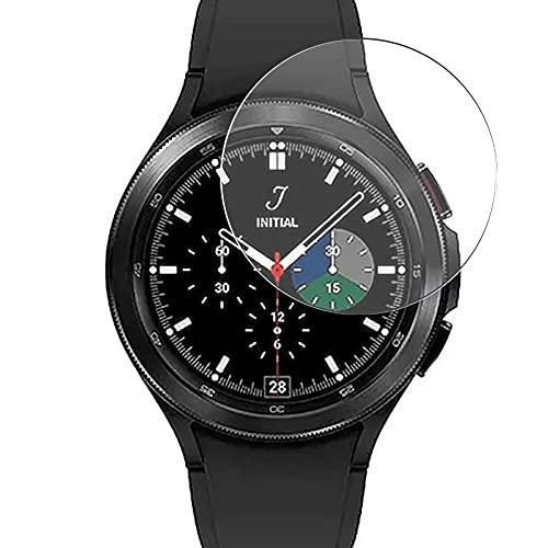 Vaxson 3 Unidades Protector de Pantalla de Cristal Templado, compatible con Samsung Galaxy Watch 4 Classic 46mm, 9H Film Guard Película Protectora [No Carcasa Case ]
