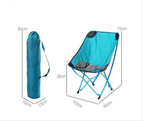HNWX2 Klappstuhl für den Außenbereich, Stuhl Luna Barhocker aus Aluminium, Strandstuhl für die Zeitung Libero Stuhl Regista Schizzo
