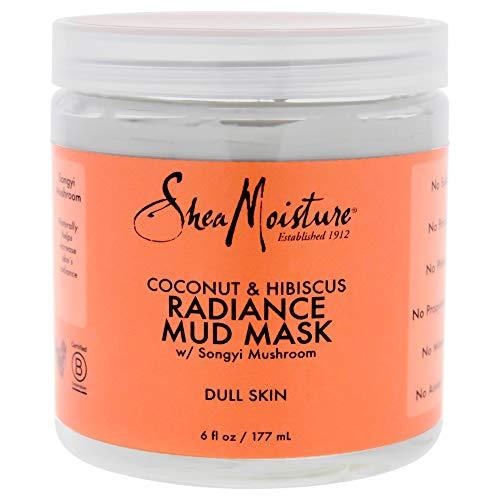 SHEA MOISTURE Coconut & Hibiscus Radiance Mud Mask Dull Skin