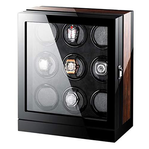LDDLDG Caja giratoria para Relojes Automático Premium Caja para Relojes (Capacidad para 8-24 Relojes, 4 Programas de Rotación, Motor Silencioso,) (Color : 9)