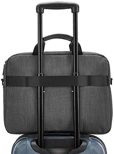 Amazon Basics - Professionelle Laptop-Tasche, für Laptops bis 39,62 cm - schwarz