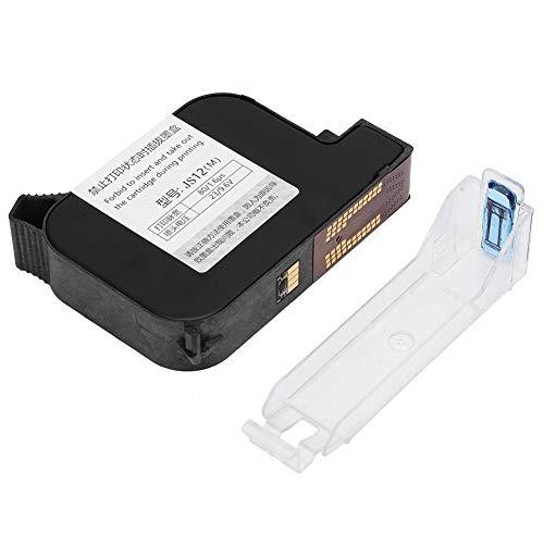 Schwarze Tintenpatronen mit hoher Reichweite, schwarze, schnell trocknende Tintenpatronen für den 530 Handheld Date Coder-Tintenstrahldrucker