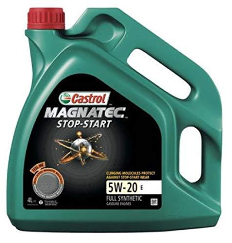 Castrol Magnatec Start-Stop 5W-20 E Synthetische Motorolie, 4 liter