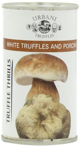 Urbani Truffles Truffle Thrills, White Truffles and Porcini, 6.1-Ounce Cans (Pack of 2)