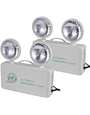 OTYTY Emergency Lights for Home Power Failure, LED Emergency Lights with Battery Backup, 2 Adjustable Heads Lamp & 90-Minute Minimum Capacity, Ultra-Bright 200 Lumens, UL Certified, 2 Pack