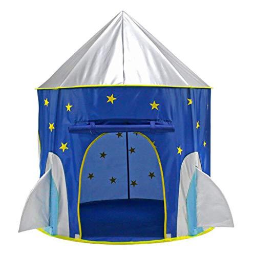 Juguete Nave Espacial Muchacho De Los Niños Cohete Tienda De Juego, Tiendas De Campaña Portátiles De Interior Al Aire Libre De Los Niños Jugar A Las Casitas Pop-Up Niño Niño Niña