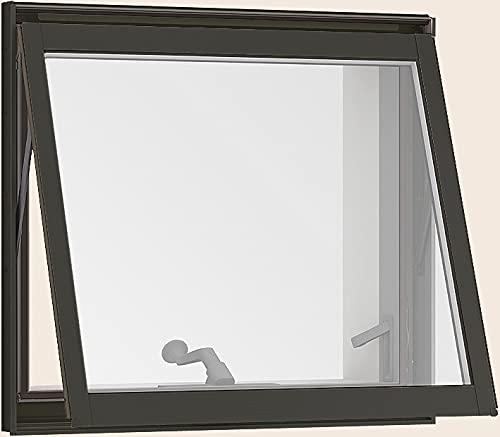 サーモスL 横すべり出し窓 オペレーターハンドル仕様 07409 W:780mm × H:970mm ガラス種類:グリン3mm-A15-型4mm(高遮熱) 製品色:シャイングレー(K/K) オペレーター:ユニバーサルハンドル 網戸:固定式網戸(標準) LI