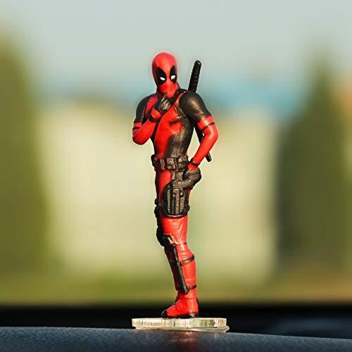 Preisvergleich Produktbild Persönlichkeit Autozubehör Action Charaktere sitzen Haltung Modell Anime Mini Puppe Autodekoration Autozubehör,  F