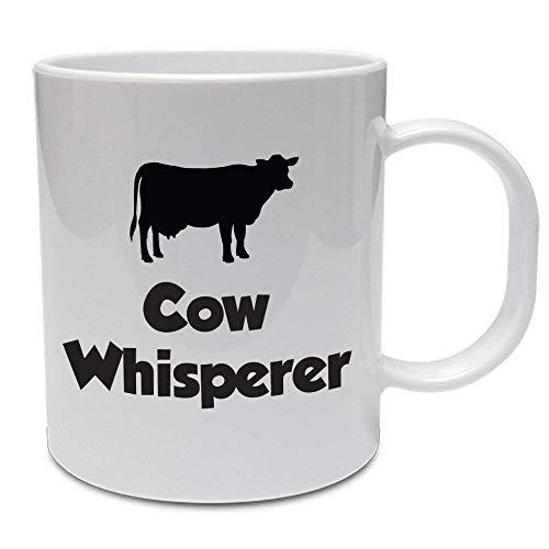 N\A Taza de Agricultura Divertida - Susurrador de Vacas - Idea de Regalo para Agricultores/Granjero de Vacas/Regalo Divertido