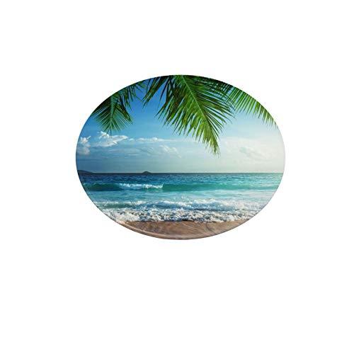 Soporte para teléfono celular, soporte universal para teléfono móvil, Palms Ocean Tropical Island Beach Decor Maldivas, soporte perezoso, soporte de montaje flexible con múltiples funciones