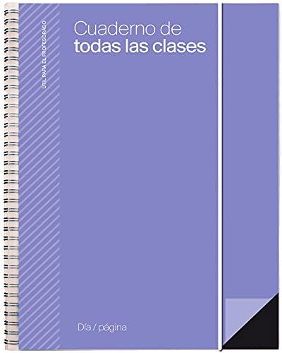 Additio P232 Cuaderno de Todas las Clases DP Evaluación + Planificación Diaria - color lila