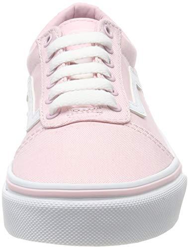 Vans Ward, Sneaker para Niñas, Rosa ((Canvas) Chalk Pink Vuz), 33 EU