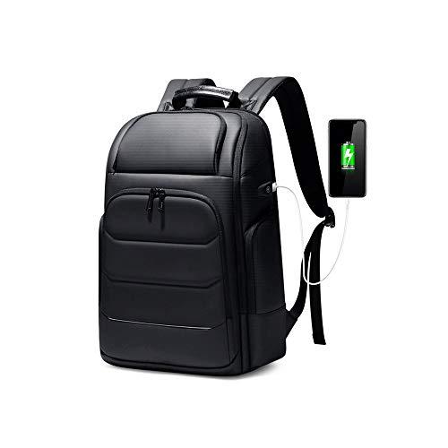 Lpiotyudnb Mochila Mochilas Impermeables Mochilas USB Carga Escuela Bolso antirrobo Hombres Mochila Ajuste 15.6 Pulgadas Laptop Mochila de Viaje de Alta Capacidad (Color : 2.0, Size : 17 Inches)