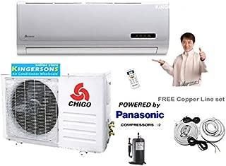 CHIGO 9,000 BTU DUCTLESS Mini Split AIR Conditioner SEER 20 110V AC Heat Pump