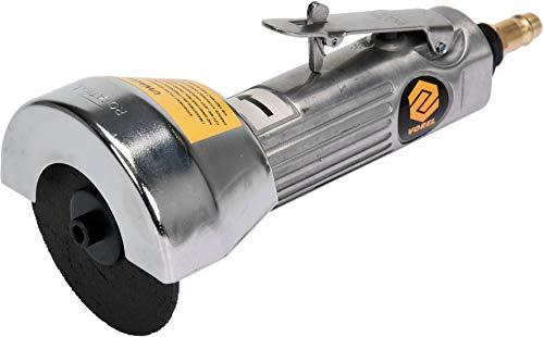 Vorel Druckluft Trennschleifer Ø75 mm, extra leichte und handliche Ausführung, 20.000 U/min, 113l /min, Trennschneider Winkelschleifer