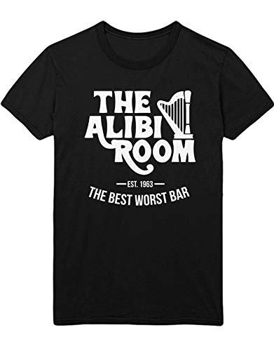 HYPSHRT Herren T-Shirt Shameless Alibi Room C000414 Schwarz M