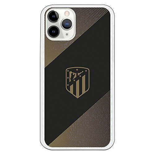 Funda para iPhone 11 Pro del Atleti para Proteger tu móvil. Carcasa para Apple de Silicona Flexible con Licencia Oficial de Atlético de Madrid.