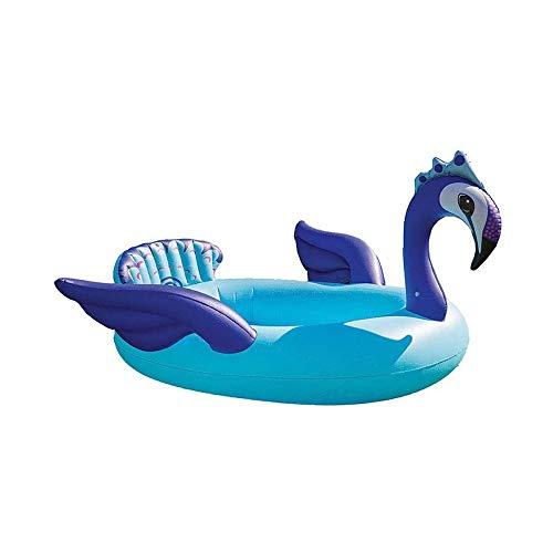 LKNJLL Isla Gigante Flamenco del Flotador, Piscina Salón balsa for Adultos y for niños, Juguetes inflables for la Fiesta en la Piscina de Verano, la Playa de Juguetes for la Piscina Grande flotadores