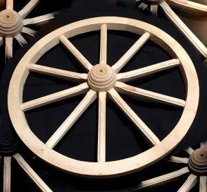 Rueda de Carro Wagon grande 70madera maciza mejor calidad detalles woodeeworld
