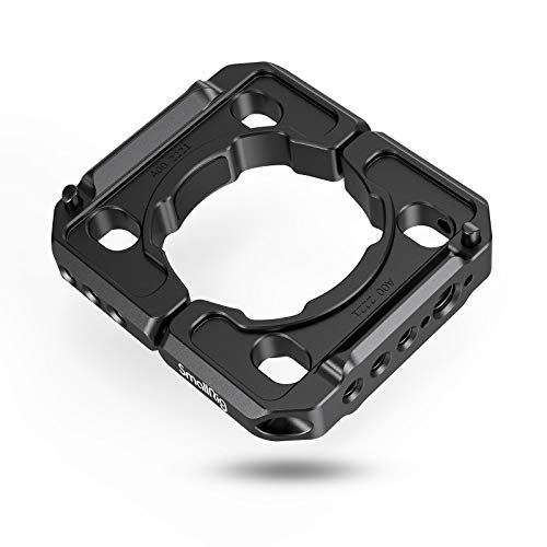 SMALLRIG Rod Clamp Ring Extension Mounting Ring Compatible with DJI Ronin S Gimbal Stabilizer for DSLR Camera w/NATO Rail, 1/4'' Threaded Holes and 3/8'' Locating Holes for ARRI Standard – 2221