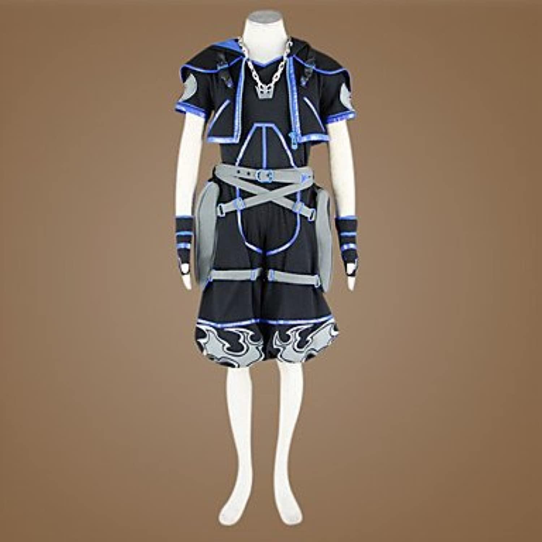 redom Hearts anti sora cosplay costume, Taglia S  altezza 160cm- 165cm(Pleae scrivici la tua taglia, altezza, peso, sptuttie, autobusto, vita e fian )
