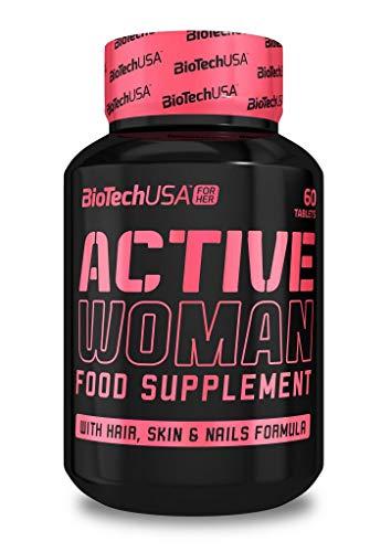 2 x Biotech USA Active Woman, 60 Tabletten (2er Pack)