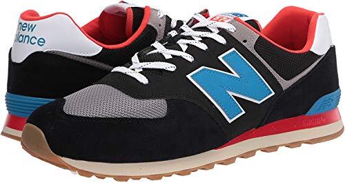New Balance ML574 Negro Rojo Azul ML574SOV