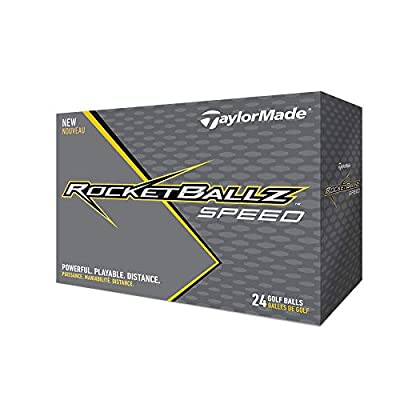 TaylorMade Rocketballz Speed Golf Balls (Two Dozen)