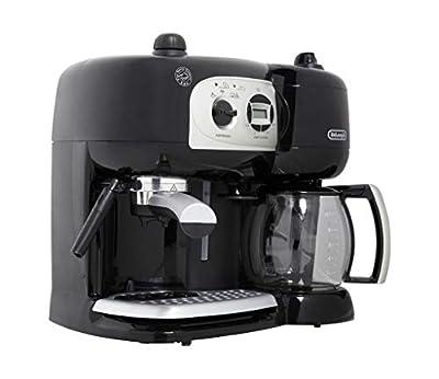Delonghi BCO264 BCO264.1 Pump Espresso Machine and 10-Cup Coffee Maker, 220 Volts (Not for USA), Medium, Black