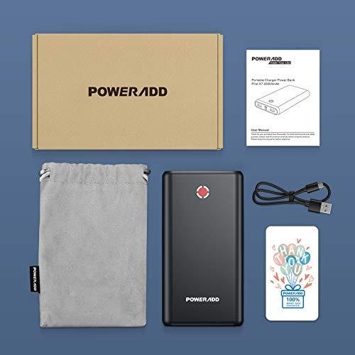 Poweradd Pilot X7 20000mAh Externer Akku Power Bank Power Pack Ladegerät