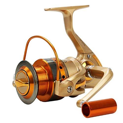 AIWKR Carrete De Pesca,Carrete De Pesca Ligero,para Pesca Agua Salada De Agua Dulce,Reel Tackle Accesorio