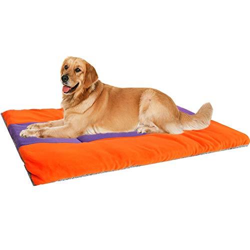 WPCASE Materassino per Cani Cuscino per Cane Grande Cuscino Cuccia Cane Cuscino Rilassante per Sfoderabile,Lettino per Cani da Interno Caldo E Morbido 12.99 * 11.02inch