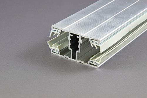 Stegplatte Verbindungsprofil Profile Mitte für 16mm Stegplatten Alu/Alu 3 Meter