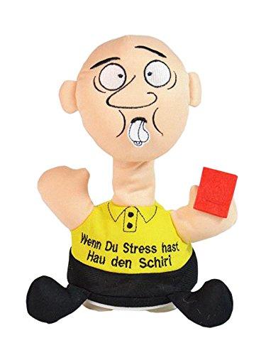 TrachtExemplar Schreiender Schiedsrichter - Stressbewältigung - Schlag den Schiri - Schreit wenn Man ihn schlägt