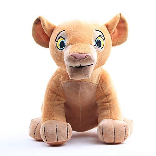 yuanchuang Jouet en Peluche Le Roi Lion Simba Nana en Peluche Poupée Jouets Film Simba Doux en Peluche en Peluche Animaux Jouets Enfants d'anniversaire De Noël Cadeaux